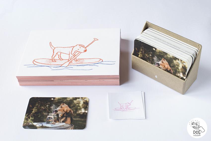 grafisch ontwerp voor honden professionals, illustraties honden business. www.dogvision.be