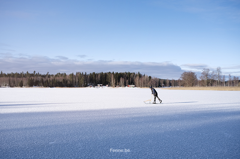 Sweden,Dalarna, slow life, countryside, Nordic winter. www.DOGvision.eu