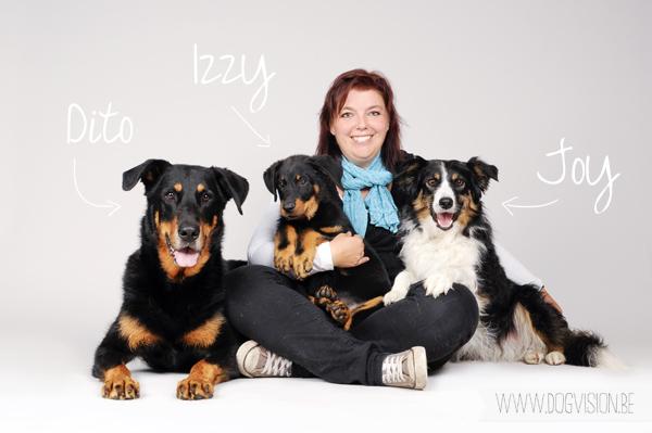 Dito, Joy & Izzy | www.DOGvision.be