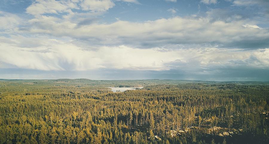 DJI, mavic air, Dalarna, Zweden, drone fotografie