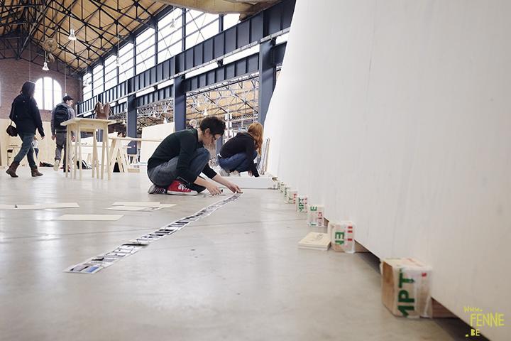 opstelling tentoonstelling | www.Fenne.be