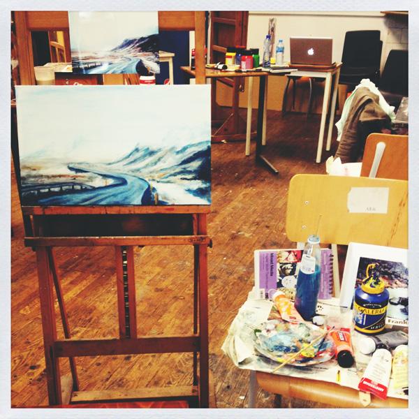 Painting class| www.Fennek.be