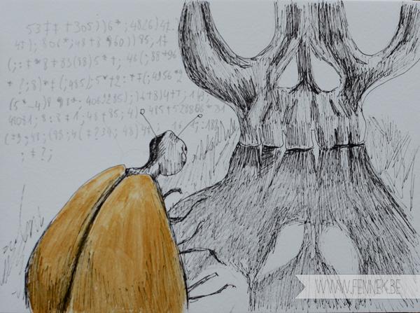 Gold bug- story \ www.Fennek.be