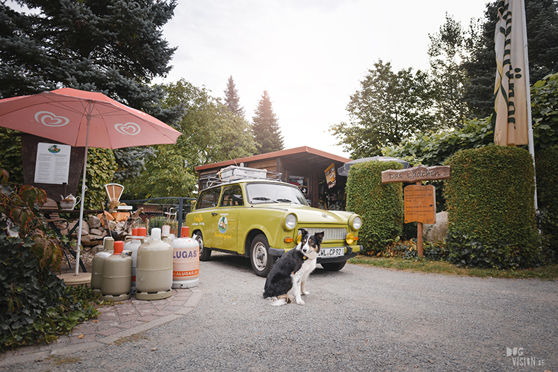 Trabant, Camping in Germany with dogs, hiking with dogs Europe, traveling with dogs, www.DOGvision.eu