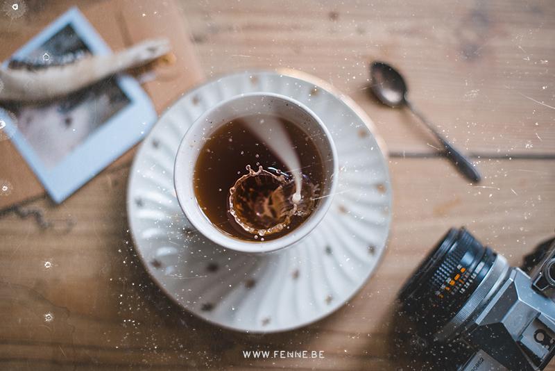 tijd voor thee, flatlay, Fenne Kustermans fotografie op www.Fenne.be, www.DOGvision.eu