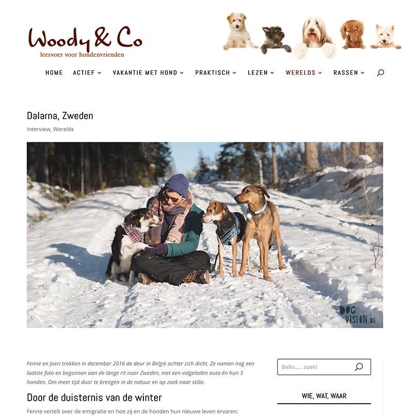 woody-en-co-Dalarna, screenshot, verhuizen naar Zweden met honden, www.DOGvision.be
