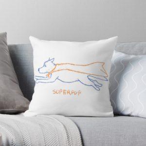 Superpup hondentekening, geschenken voor hondenliefhebbers en hondenbaasjes, originele en kleurrijke prints van honden, dogvision.redbubble.com